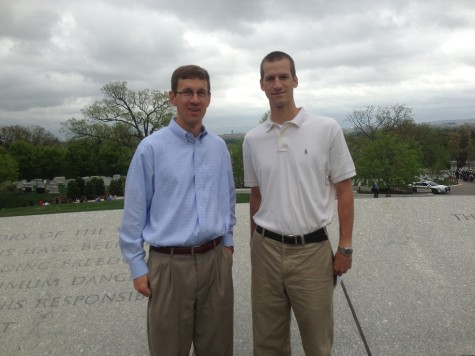Jason & Travis, Arlington National Cemetary in Washington, D.C.