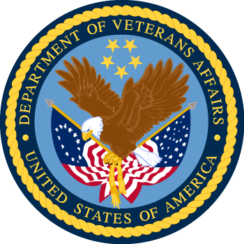 Seal of the United States Department of Veterans Affairs 1989 2012
