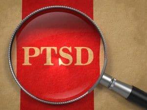 PTSD magnifying glass