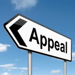 Appeal sign