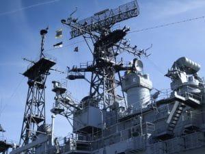 U.S. Navy battleship