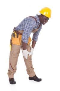 Repairman knee pain